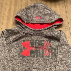Girls Under Armour hoodie size YM